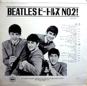 ビートルズ No.2!(The Beatles' Second Album),ODEON-OR7058-back