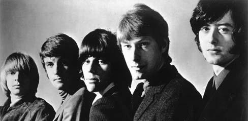 ロックTシャツマニアックスヤードバーズ(The Yardbirds) TOP